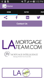 LA Mortgage Team's App- screenshot thumbnail