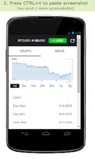 BTC Graph - náhled
