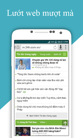 android Cốc Cốc HD Screenshot 0