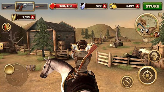 Musketier des Westens Screenshot