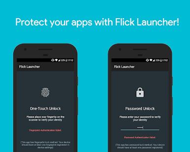 Flick Launcher (Unreleased) Screenshot