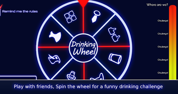 The Drinking Wheel Apps On Google Play