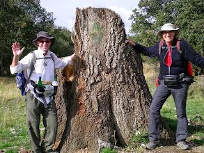 Photo: Etapa 21. Amb Michael al Roble del peregrino. Camí cap a Rabanal del Camino