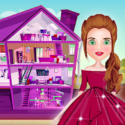 Baby doll house decoration game