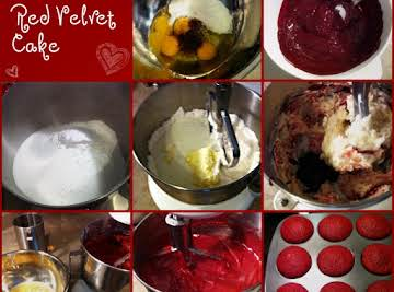 Aunt Marilyn's Red Velvet Cake