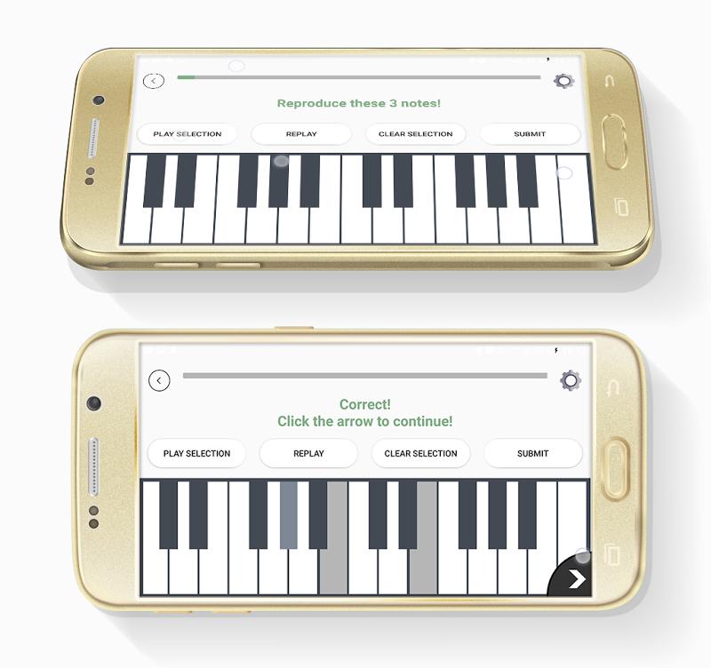 ChordProg Ear Trainer Screenshot 1