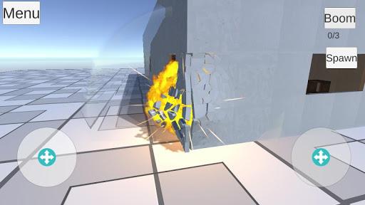 Destruction physics  trampa 2