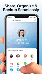 Call Recorder Automatic Screenshot