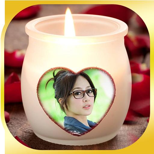 蜡烛爱相框HD 攝影 App LOGO-硬是要APP