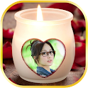 Candles Love Photo Frames icon