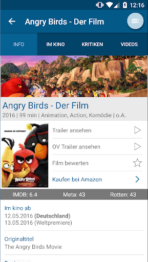 AbInsKino: Kinoprogramm mit Spielfilme TV Programm  screenshots 6