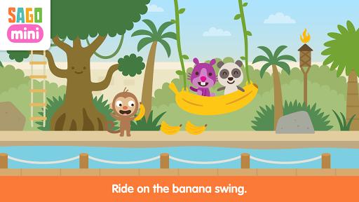 Screenshot for Sago Mini Zoo in Hong Kong Play Store