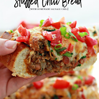 Stuffed Chili Bread