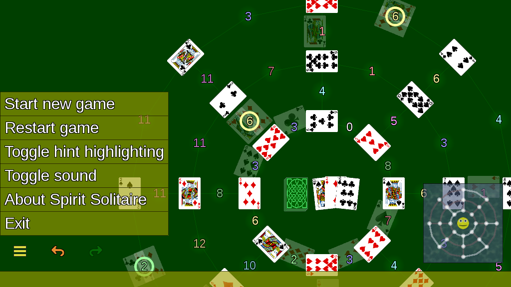 Spirit Solitaire- screenshot