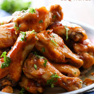 Honey Maple BBQ Wings.