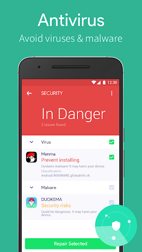 Power Security-AntiVirus Clean v1.2.19 (Mod AdFree)