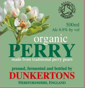 Logo of Dunkertons Organic Perry Cider
