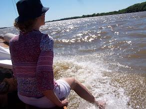 Photo: Disfrutando del agua del Paraná