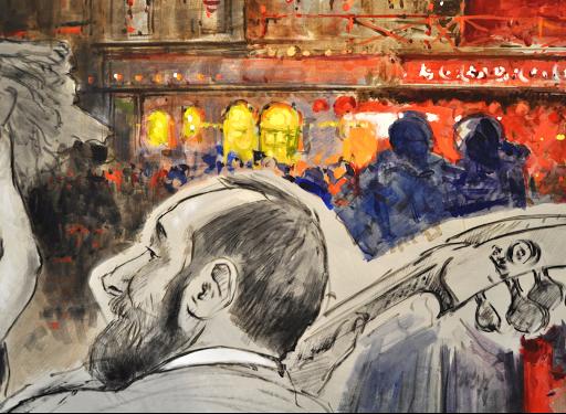 Chambre Toulouse Lautrec.