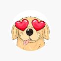 ParkerMoji - Golden retriever Emojis & Dog Sticker icon