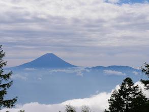 鞍部付近からの富士山