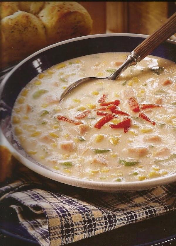 Quick Corn Chowder With Ham Recipe