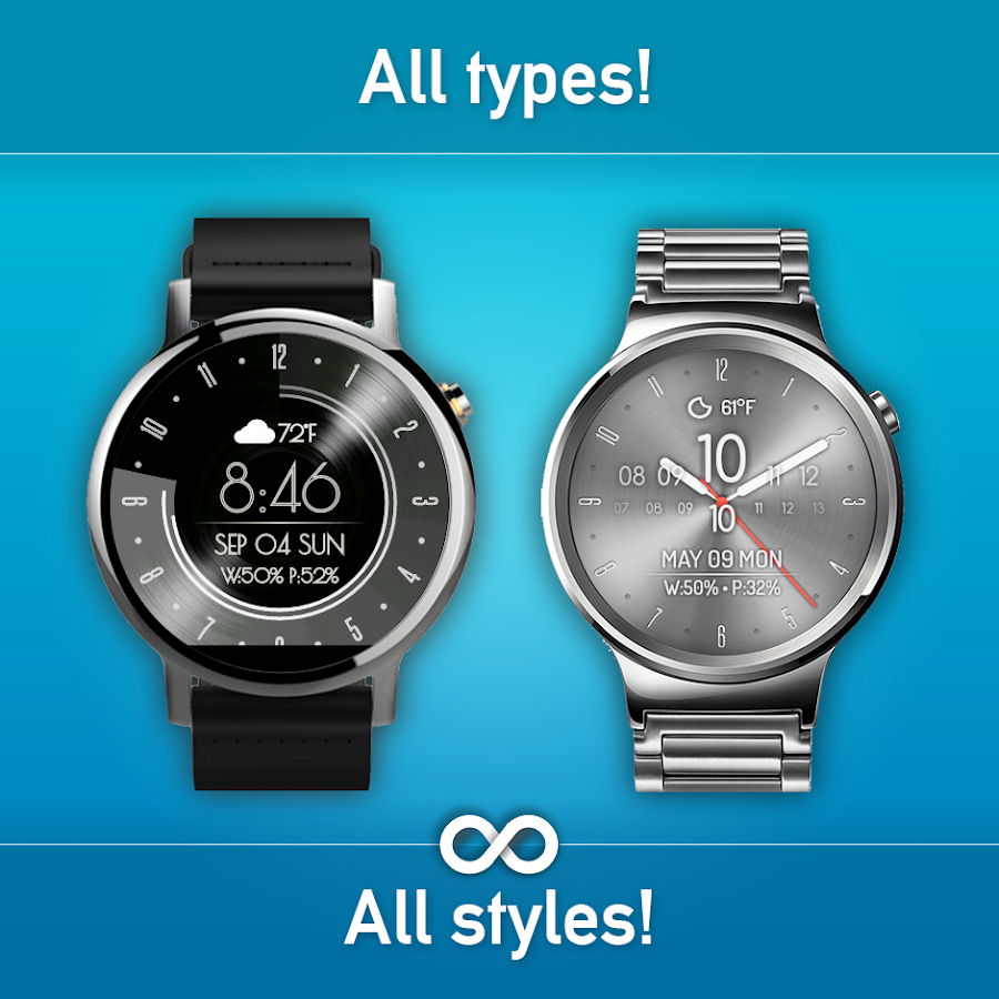 Watch Face - Minimal & Elegant- screenshot