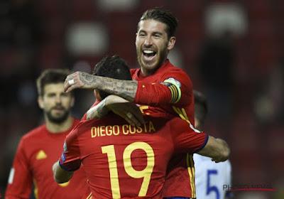 Voici la liste définitive des 23 Espagnols !