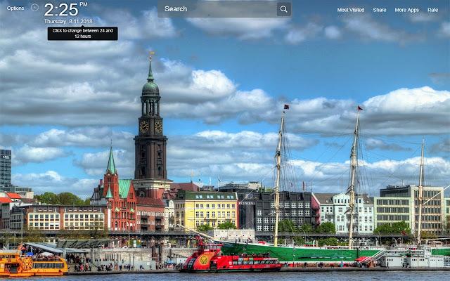 Hamburg Wallpapers Theme New Tab