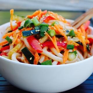 Shanghai Cold Noodle Salad