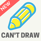 Who Can't Draw - Party game! icon