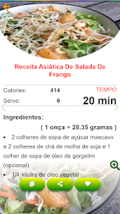 Download Saladas receitas:comida saudável ​​com Nutrição For PC Windows and Mac apk screenshot 5