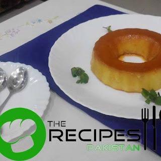 Cake Rusk Caramel Pudding Recipe