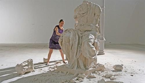 Spanish artist Cristina Lucas