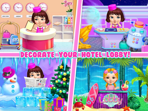 Screenshot for Sweet Baby Girl Hotel Cleanup - Crazy Cleaning Fun in United States Play Store