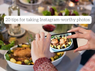 20 Tips for Taking Instagram-Worthy Photos