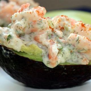 Shrimp-Stuffed Avocado