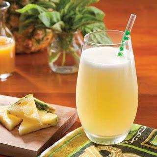 Pineapple-Basil Soda