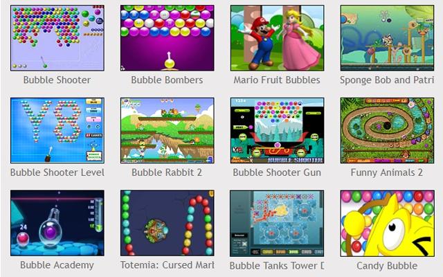 Bubble games