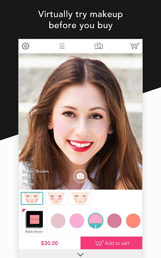 YouCam Shop - World's First AR Makeup Shopping App  screenshots 1