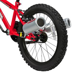 Toba esapament bicicleta, sunet de motocicleta, Turbospoke