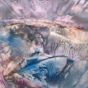 Atlantis invocation by Iulia Cristina Handrabur - Painting All Painting ( unique, encaustic, award, avantgarde, decor, modern, fantasy, new, risingstar, contemporary, original, best, worldscape, conceptual )