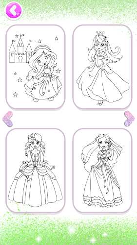 Indir Sparkle Princess Coloring Pages Glitter Fireworks Apk Son