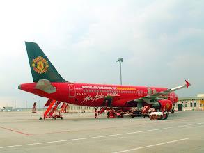 Photo: Air Asia plane in Kuala Lumpur