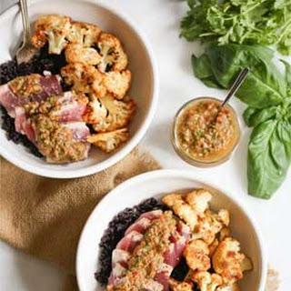 Ahi Bowls with Cauliflower and Chimichurri