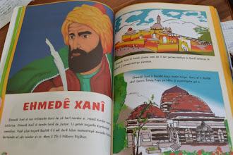 Photo: A book used in the primary Kurdish school in Amed