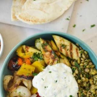 Middle Eastern Veggie-Lentil Bowls