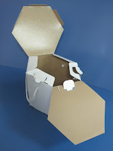 Photo: Embalagem para Alimentos - Aberta. Alimentos de Delivery - OP-47957 - Volume aproximado de 4 Litros. 17 cm de altura
