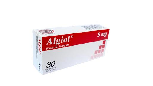Bisoprolol Algiol 5Mg 30Comprimidos Dollder