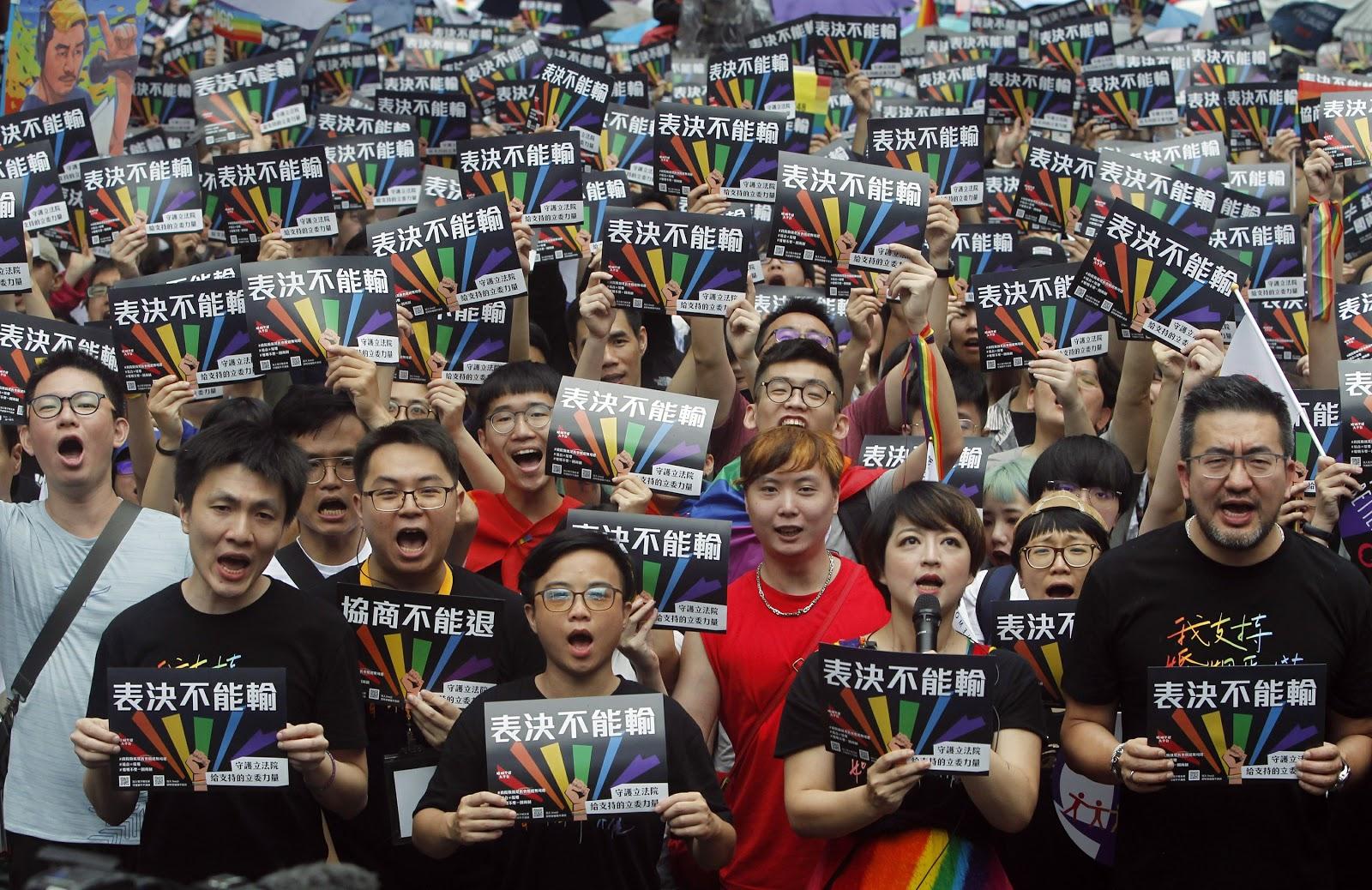 Same sex marriage in Taiwan